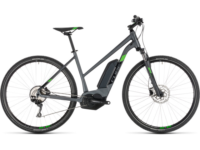 Cube Cross Hybrid Pro 400 E-crossbike Trapez grå (2019) | City